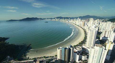Vista aérea de Balneário Camboriú
