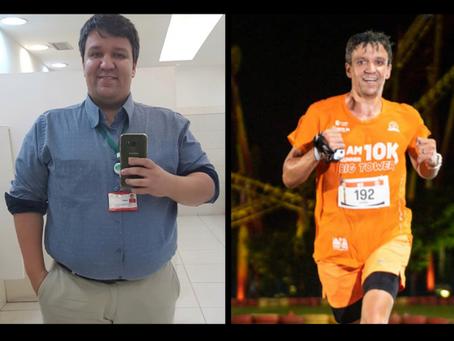 Conheça o atleta Daniel Castro, que perdeu 64kg e mudou sua vida através da corrida