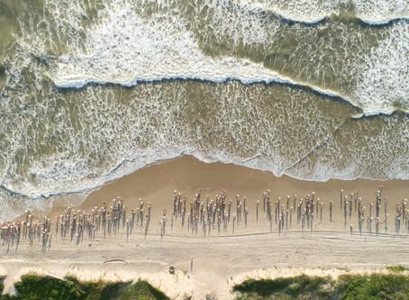 Em sua 12ª edição, a Corrida de Praia Portonave atraiu um mar de atletas à orla de Navegantes