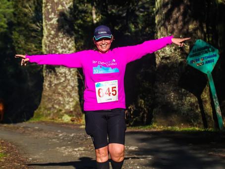 'Sou uma sobrevivente de câncer através da corrida': A História de Lizete Machado