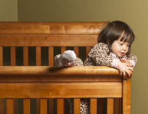 How do you keep your climbing toddler in a crib?