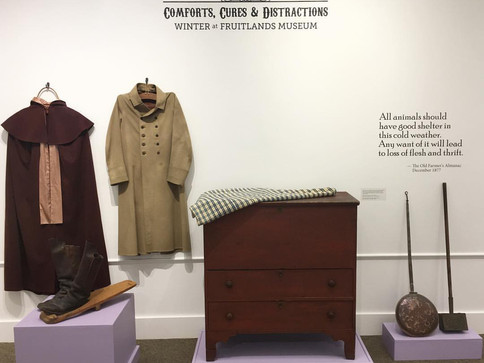 """""""Comforts, Cures, & Distractions: Winter at Fruitlands Museum"""" at Fruitlands Museum"""