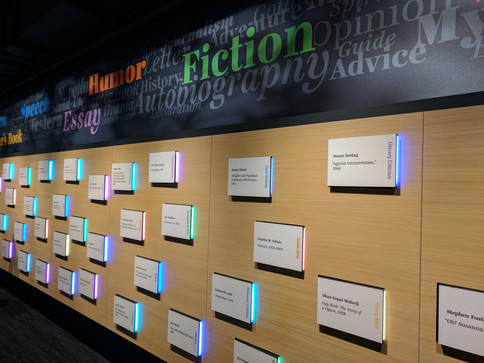 """Surprise Bookshelf"" at the American Writers Museum"