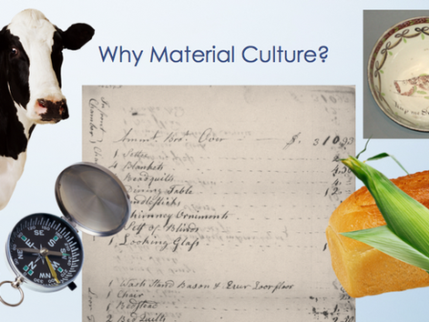 Material Culture Methods Lecture at University of Connecticut, Waterbury