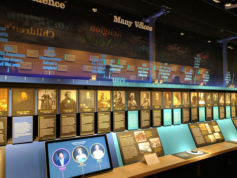 """American Voices"" at the American Writers Museum"