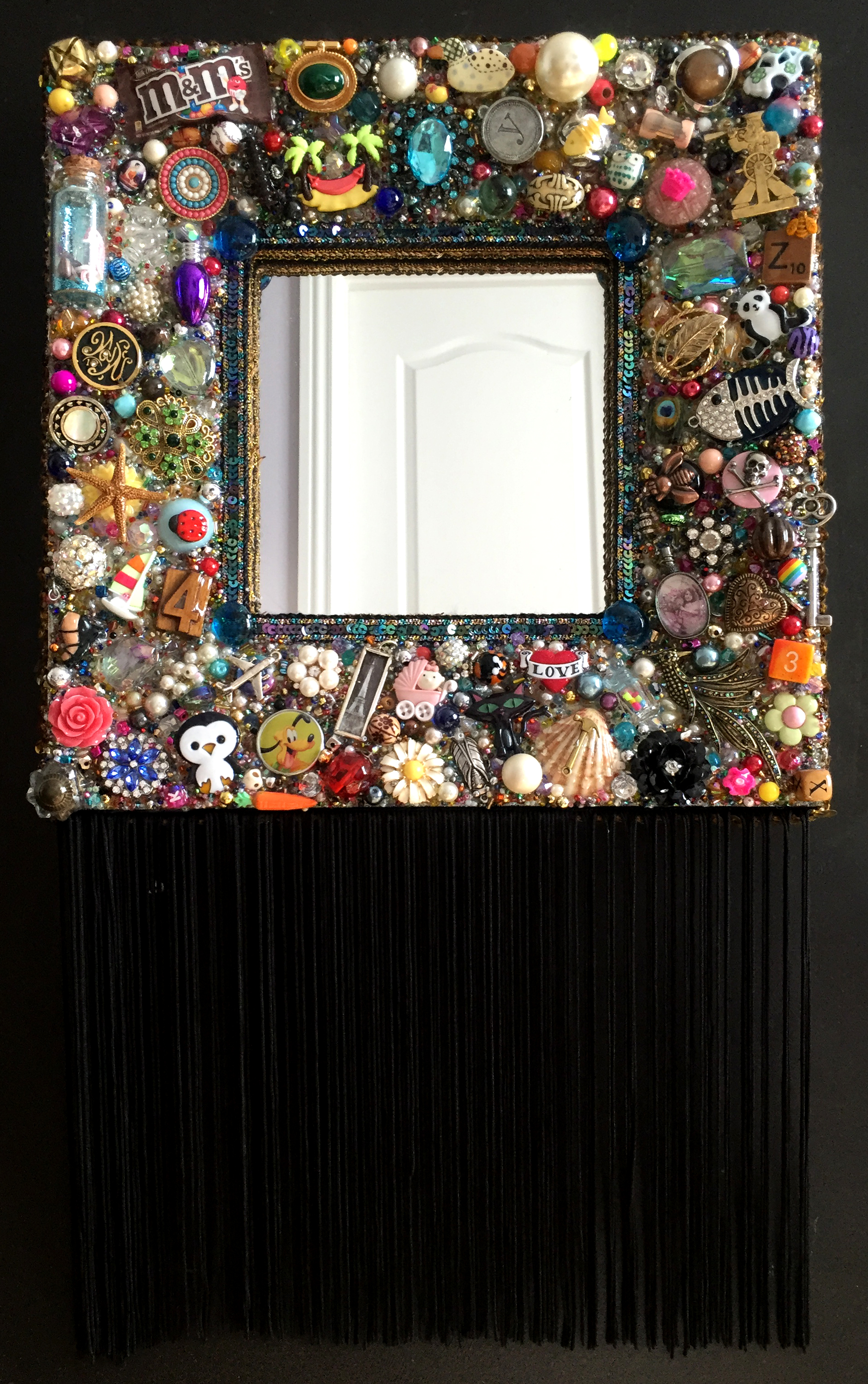 Fringed Mirror