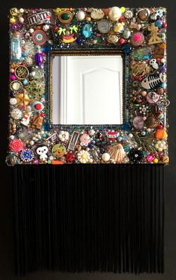 Fringed Mirror