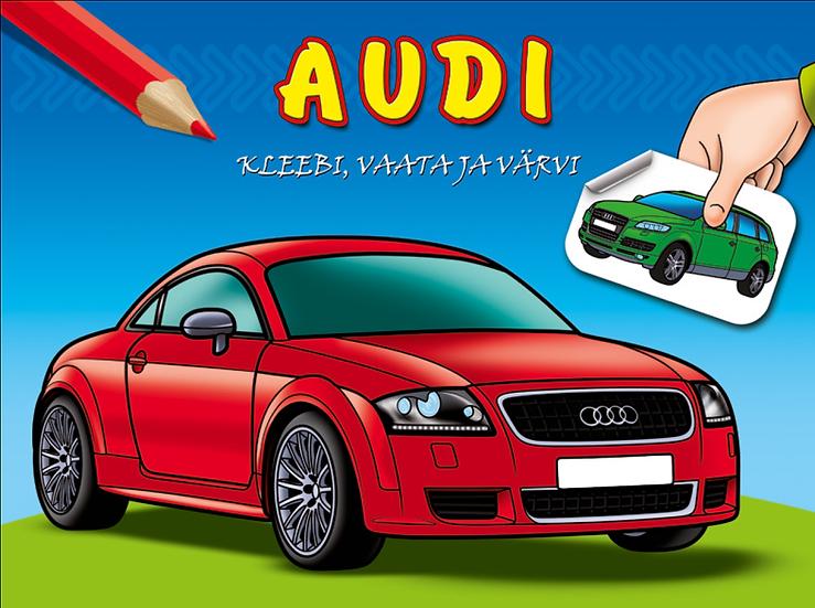 Audi. Kleebi, vaata ja värvi