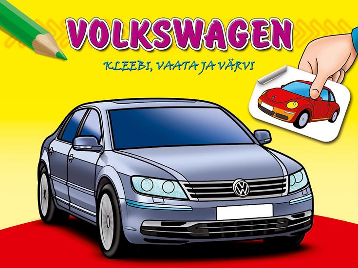 Volkswagen. Kleebi, vaata ja värvi