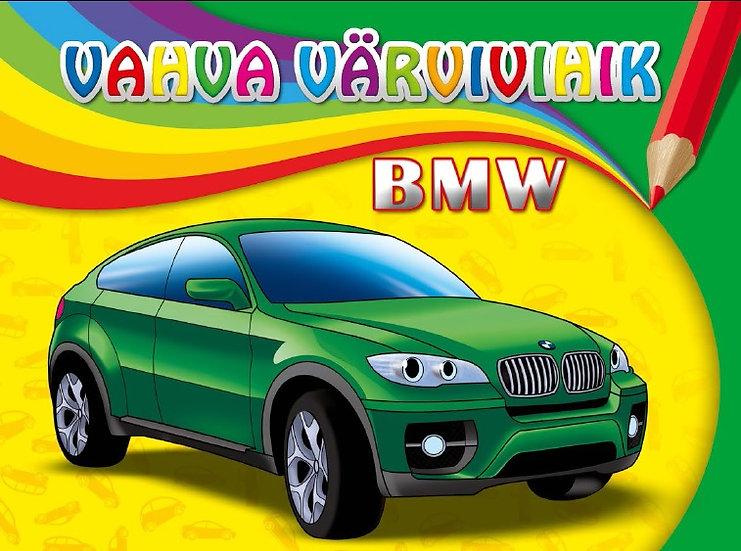 BMW. Vahva värvivihik