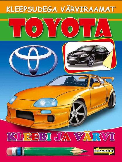 Toyota. Kleebi ja värvi