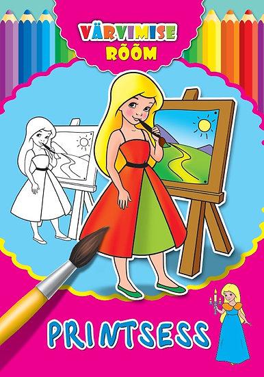 Printsess. Värvimise rõõm