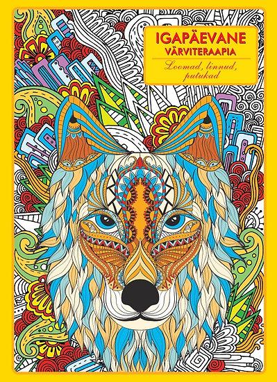 Loomad, linnud, putukad. Igapäevane värviteraapia