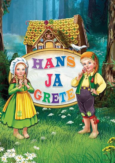 Hans ja Grete. Väike pappraamat