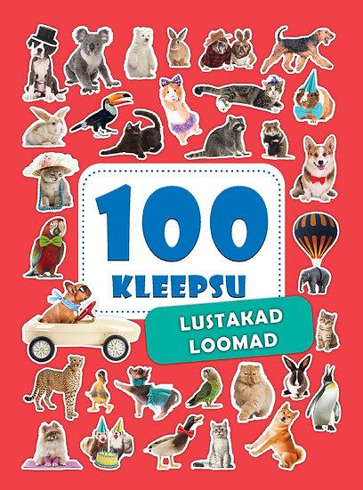 Lustakad loomad. 100 kleepsu