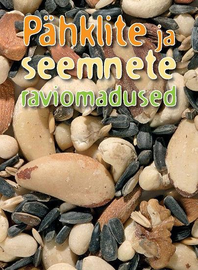 Pähklite ja seemnete raviomadused