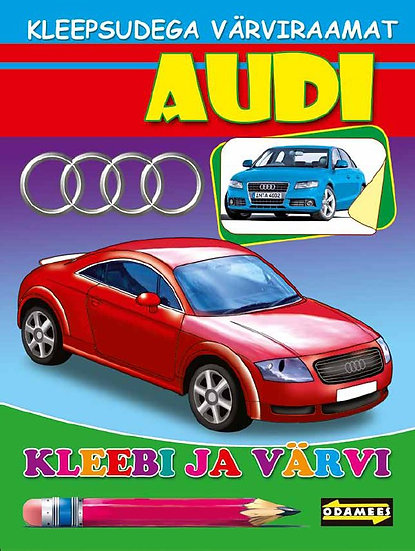 Audi. Kleebi ja värvi