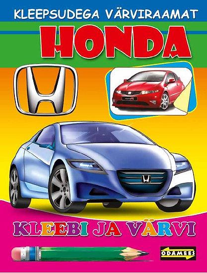 Honda. Kleebi ja värvi