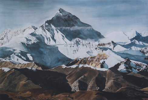 Everest -limited edition archival print