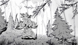 """Harpy Beargle Woods"""