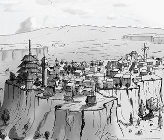 """""""Land of the Ascending Village"""