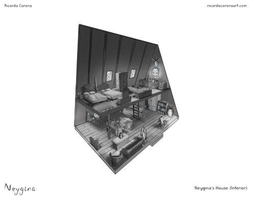 Neygina's House Interior