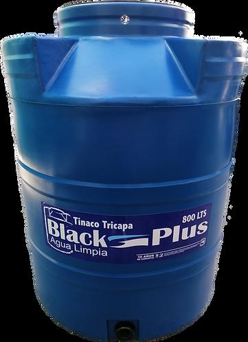 Tinaco tricapa azul 800 lts