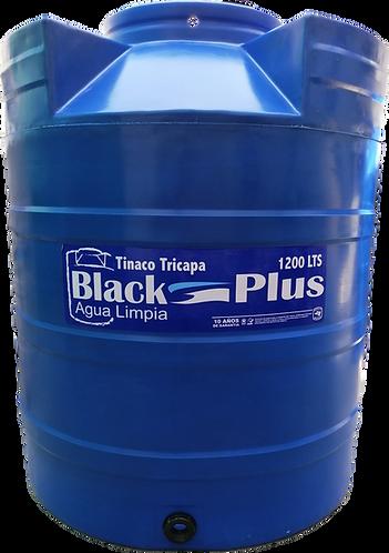 Tinaco tricapa azul 1200 lts