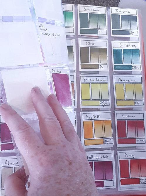 "Swatch Stamp Storage Pockets 2"" x 2"""