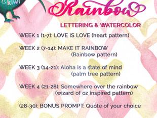 AlohaKiwi Rainbow Month