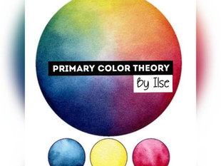 Primary color theory – color mixing with essential watercolors
