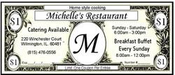 MICHELLE'S Coupon