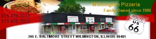 Wilmington Pizzaria Header