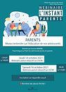 « Parents, mieux s'entendre sur l'éducation de nos adolescents »
