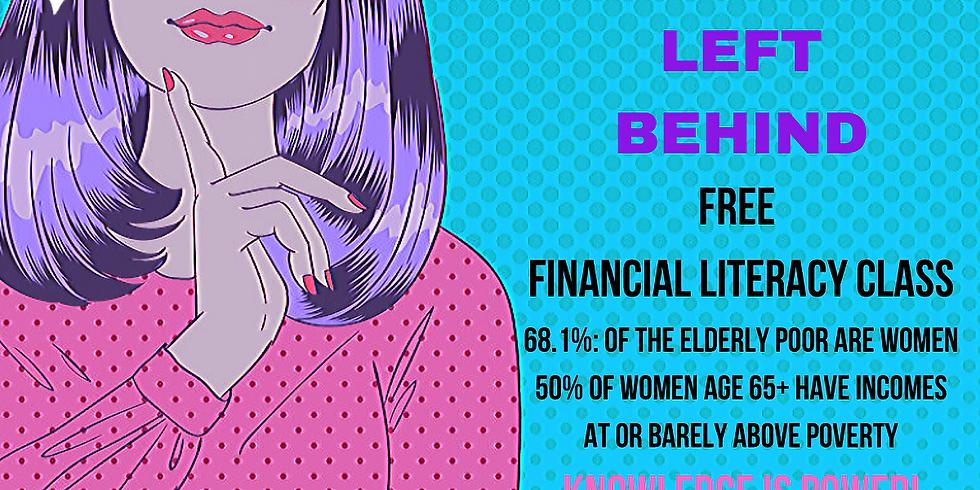 No Woman Left Behind: Free Financial Literacy Class