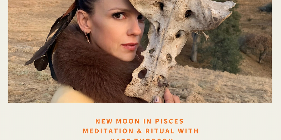 New Moon Meditation with Kate Thorson