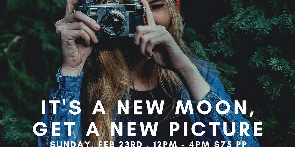 Pictures & Prosecco for the New Moon