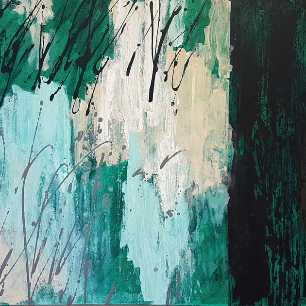 Abyss-1608 (24x36in) Acrylic on Canvas