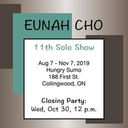 Eunah Cho 11th Solo Show