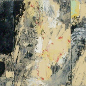 Abyss-9327 (13x48in) Mixed Media on Hanji