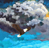 Timeless2012, bald eagle_24x36in_Acrylic