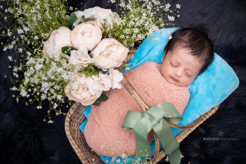 newborn baby photo shoot