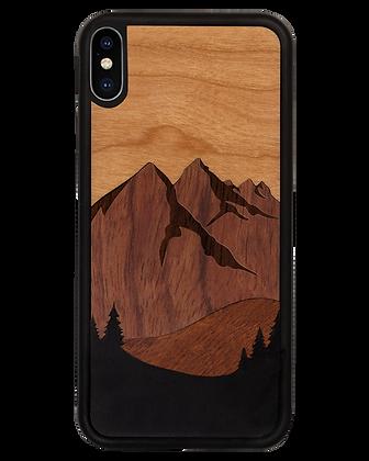 Die Berge (aus 4 Holzarten)