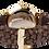 "Thumbnail: AM15 / BF / ""Goldene Eiche"" - Leder dunkelbraun geflochten (Versand ab 30.08)"