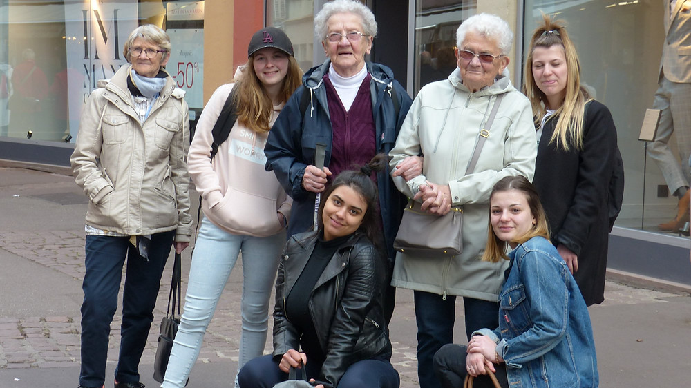 Jeunes et anciens ont partagé de beaux moments de complicité !