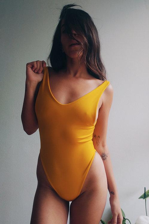 Marfa Swimsuit Mustard