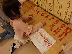 数教育 数字と玉