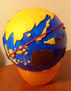 文化教育 地球儀