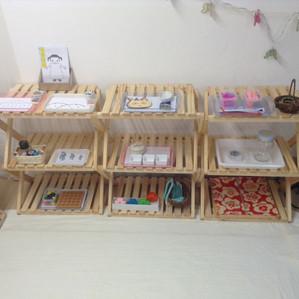 武蔵小山教室の準備風景