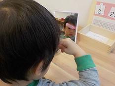 日常生活の練習 髪を梳かす